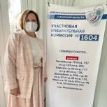 Марина Сидухина: избирательный процесс на участках в Самарской области организован на «пять с плюсом», выборы абсолютно легитимны