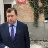 Александр Шувалов одним из первых проголосовал на выборах в Кизляре