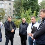 При благоустройстве двора на улице Трудовой были выявлены недостатки