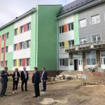 Тамара Фролова проверила ход строительства Уметской школы
