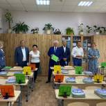 Одинцовскую гимназию №4 поздравили с 30-летием местные партийцы