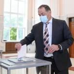Сергей Меликов проголосовал на выборах в Госдуму РФ