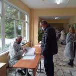 Юрий Крячко проголосовал на выборах губернатора и депутатов Государственной Думы