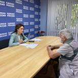 Депутат гордумы Лидия Новосельцева проконсультировала жителей донской столицы
