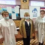 Галина Алешина посетила избирательные участки в Советске