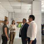 Качество ремонта в одинцовской школе «Надежда» проверили местные партийцы