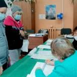 В районах Рязанской области полным ходом идет голосование