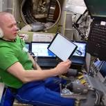 Космонавт Олег Новицкий проголосовал онлайн с орбиты Земли