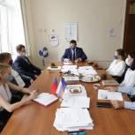 Роль школьных спортивных клубов обсудили в штабе общественной поддержки «Единой России»