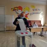 Андрей Красов проголосовал в Спасском районе