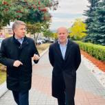 Олег Колесников и Александр Глазков подвели итоги реализации федеральных проектов на территории Саткинского района