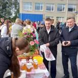 Николай Котов посетил с рабочей поездкой Малосердобинский район