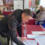 Алексей Калганов: Голосование проходит в спокойной обстановке