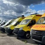 Медицинские организации Алтайского края получили 43 новые машины скорой помощи