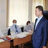 Никита Чаплин ознакомился с работой избирательных участков в Коломне