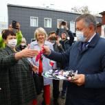 Игорь Кобзев: 54 новых автомобиля получили больницы Иркутской области