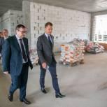 Никита Чаплин пообещал усилить контроль за ходом строительства нового корпуса гимназии в Коломне