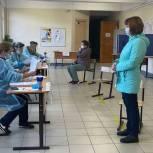 Фотоотчет по третьему дню голосования в Ленобласти