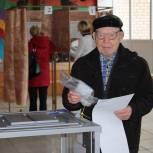 91-летний ветеран с 18 лет не пропустил ни одни выборы