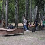 В Ирбите преобразился Парк имени 40 ВЛКСМ