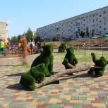 Город Октябрьский преображается в рамках проекта «Городская среда»