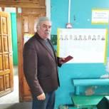 Лидер казачьего сообщества в Верхнеуральском районе Александр Егоров проголосовал в Сурменевском сельском поселении