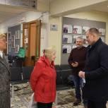 Дзержинцев, которые пришли на выборы, поблагодарил глава города