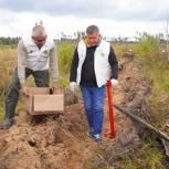 Игорь Кобзев рассказал школьникам об экологических проектах региона