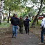В Рязани продолжается депутатский контроль за ремонтом дворов