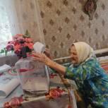 В Думиничах проголосовала старейшая жительница региона