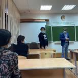 Бадма Башанкаев и Михаил Богатов посетили школу №21 города Элиста