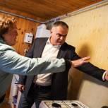 Виктор Родионов проверил ход реализации президентской программы по социальной газификации в Солнечногорске