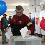 Первыми проголосовавшими в Кузбассе стали горняки