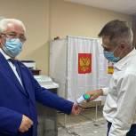 В Одинцовском округе стартовало трехдневное голосование на выборах в Госдуму и Мособлдуму