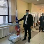 Члены фракций «Единой России» в Парламенте Кузбасса проголосовали на выборах