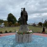 В Кадоме открыли памятник Герману Аляскинскому