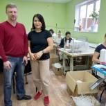 Евгений Зимняков в ходе рабочей поездки по Костромской области посетил швейную фабрику в Нерехте