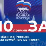 «Единая Россия» поддерживает семейные ценности
