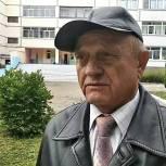 Почетный гражданин Воскресенска проголосовал одним из первых в третий день голосования