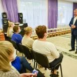 Владимир Шапкин встретился с коллективом детского сада в Балашихе