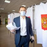 Павел Федяев проголосовал на выборах в Кузбассе