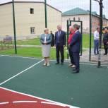 В селе Раменки завершается строительство нового спортивного зала