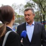 Виктор Пинский: Я благодарен всем избирателям, которые пришли на выборы