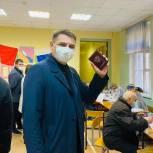 Андрей Марков проголосовал на выборах депутатов Госдумы