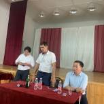 Кандидаты Михаил Богатов и Бадма Башанкаев встретились с жителями Октябрьского района