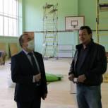 Ремонт спортивного зала в школе № 67 завершат к 16 сентября