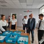 Депутат Саратовской областной Думы Андрей Корнеев принял участие в открытии образовательного центра «Точка роста»
