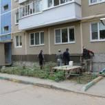 В областном центре продолжается депутатский контроль за ремонтом домов и дворовых территорий