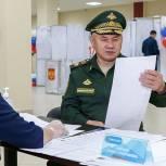 Сергей Шойгу: Для каждого военнослужащего, гражданина участие в выборах — это важная и ответственная задача