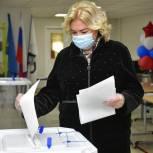 Ирина Соколова сделала свой выбор в Единый день голосования